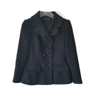 Auth Dolce & Gabbana jacket wool black sz 42